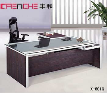 glass top office desk. Modern Glass Top Office Table Design Desk D