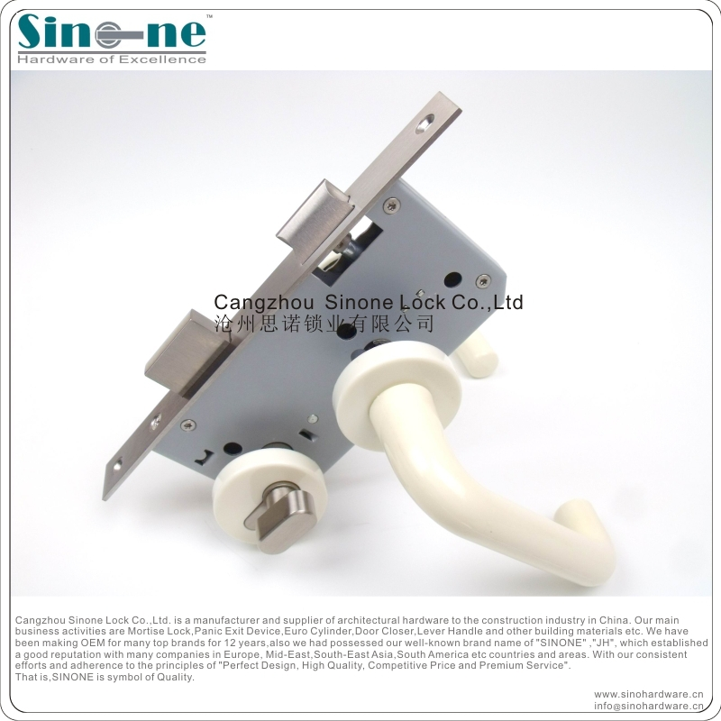 Germany Quality/euro plastic door lever handle for mortise lock ...