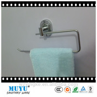 Promotion wall mounted towel ring zinc alloy bathroom paper holder