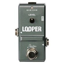 Rowin Nano Looper Guitar Loop Effects Pedal True Bypass (Grey)