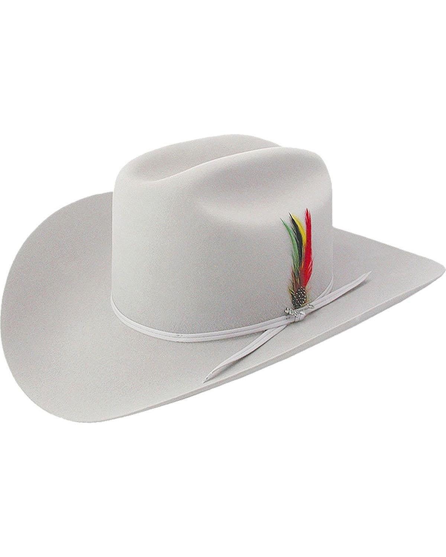 Stetson Men s 6X Silverbelly Rancher Fur Felt Cowboy Hat - Sfrnch-0140  Silverbelly 2bca1f517b1