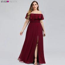 Розовое платье подружки невесты размера плюс с вырезом-лодочкой, ТРАПЕЦИЕВИДНОЕ ПЛАТЬЕ для свадебной вечеринки EP00968, 2020(Китай)