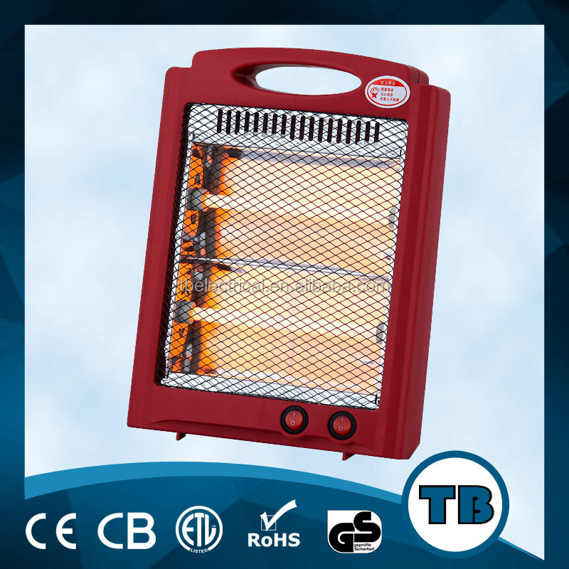 Fireplace Type 2400w quartz heater with rollover switch