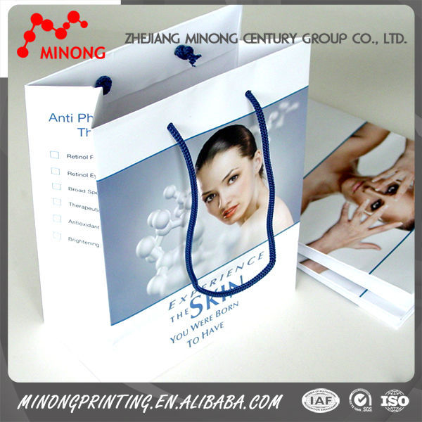 Factory Made High Quality Coated paper or Customized paper bag printing photos