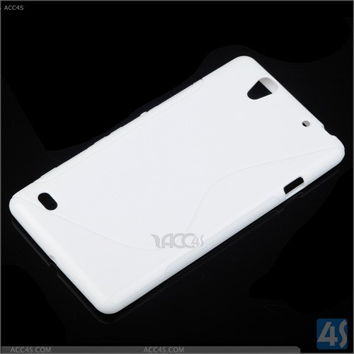 Wholesale in stock S line tpu case for sony xperia c4 e5333, X line tpu case for xperia c4,pudding tpu case cover for sony c4