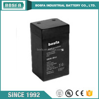 6v2.3ah lead acid battery rechargeable toy car battery