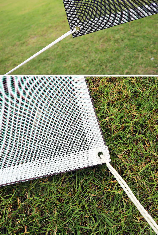 Digital Printing Outdoor Fence Advertising Large Format Transparent Vinyl PVC Scrim Mesh Banner