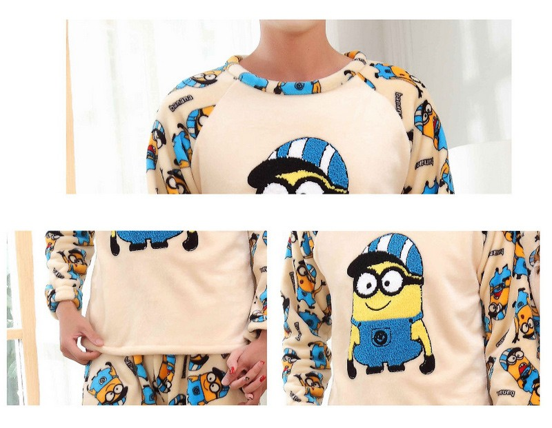 0c66313abb Detail Feedback Questions about Thickened Pyjamas Women Adult Minion ...