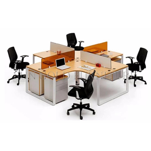 Office Partition Cubicle Modern Wooden Modular Workstation Office(SZ-WS026)