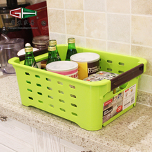 Hot Sale Beautiful PP Plastic Home Sundries Daily Use Solid Durable Stackable Baskets