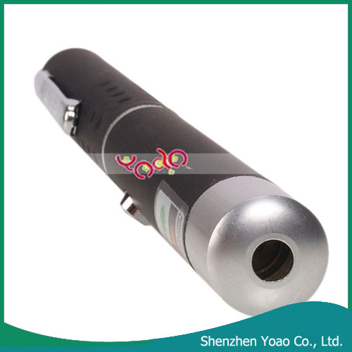 Wholesale 5mW 532nm Mid-open Green Laser Pointer Black