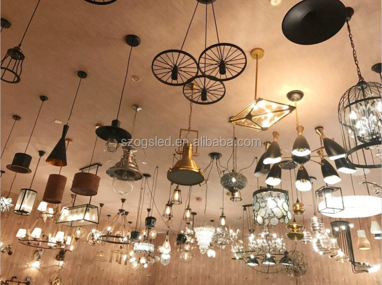 Industrial Water Pipe Wall Lamp Interior Decoration Vintage