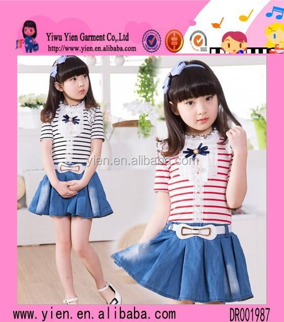8ca853ae4ddd Trendy Kids Clothes Wholesale Fashion Kids Denim Clothing Boutique ...