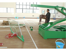 Movable Manual hydraulic basketball stand