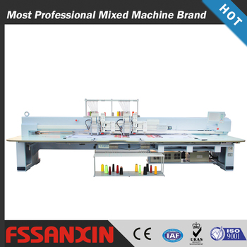 Wholesale China Good Sale 2 head Chenille+Flat+Taping mixed Computerized embroidery machine