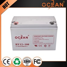 Ocean MSDS gel battery 6v 100ah for solar system