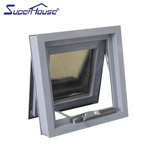 EU market passive house use high energy saving color aluminum awning window