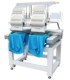FUWEI domestic computerized embroidery machine monogram embroidery machine TWO HEAD