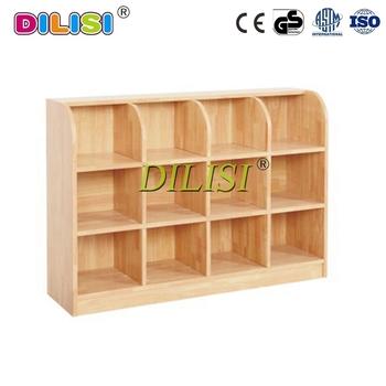 Preschool Storage Furniture Kids Cabinet Children Wood Toy Cabinet
