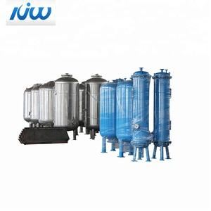 automatic ss pure drinking multimedia pressure water tanks filters machine stainless steel sand filter