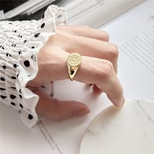 925 стерлингового серебра ажурные Свадебные Кольца готический тотемный узор индивидуальное кольцо подвески панк для женщин винтажные украш...(Китай)