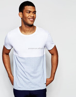 bamboo t-shirts wholesale mens blank t shirts 60% cotton 40% polyester t-shirts