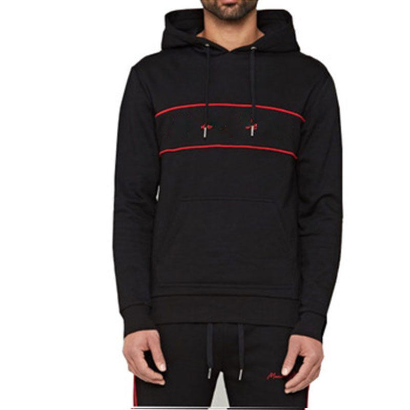 Wholesale Fashion Custom Logo <strong>Mens</strong> Sweatshirt Print Pullover <strong>Black</strong> <strong>Hoodie</strong>