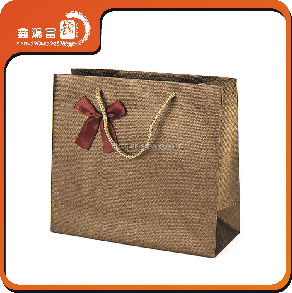 halloween costumes christmas brown gift luxury paper shopping bag