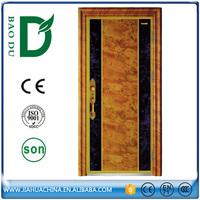 various design luxury front door high quality enamel door for villa home gate