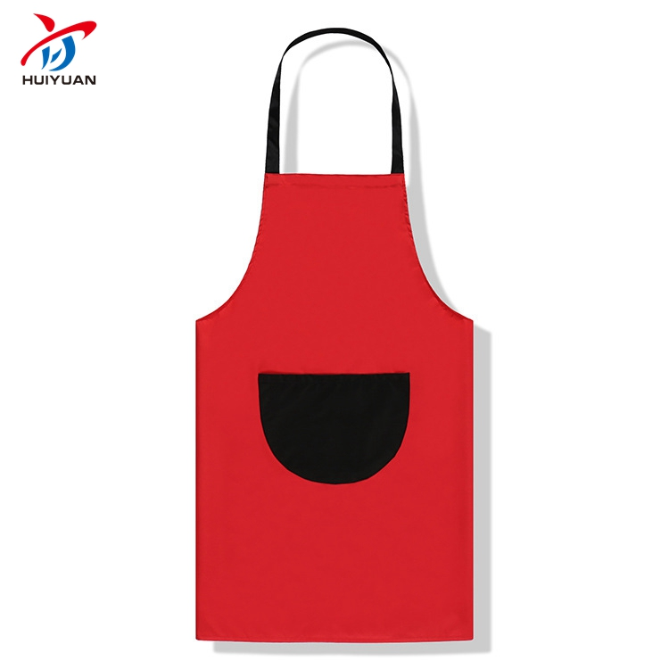 2018 Hot Selling Promotional High Quality Fashion Polyester and Cotton Bib Custom Children Aprons