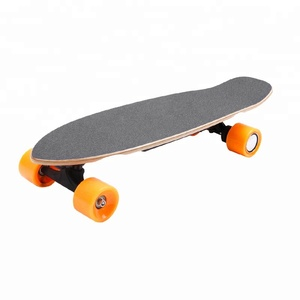 2018 the best 7 ply maple deck cheap electric fish skateboard wholesale hub motor electric skateboard for sale with remote