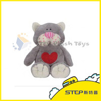 Plush Toy Cartoon Cat for Valentine's Day