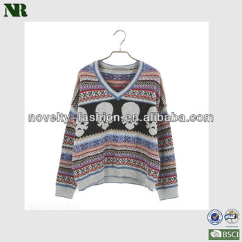 1a99892ca291e Skull Design Cool Sweaters clothes baby soft sweater kids soft pullover  sweater