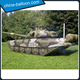 Realistic inflatable tank model artificial inflatable military tank for outdoor acting