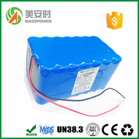 2015 New Customized for electric scooter/bike/motor 48v lithium ion battery pack