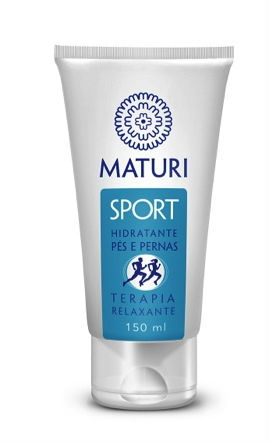 Moisturizing Cream for Feet and Legs - Maturi Sport