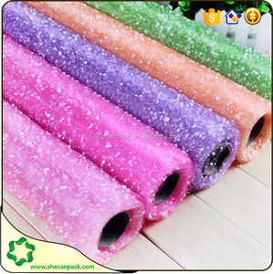 SHE CAN PACK plastic materials original snow dot printed net roll