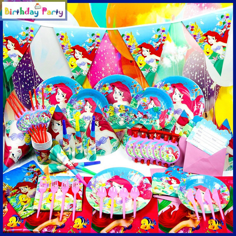 wholesale children birthday party favor supplies princess theme