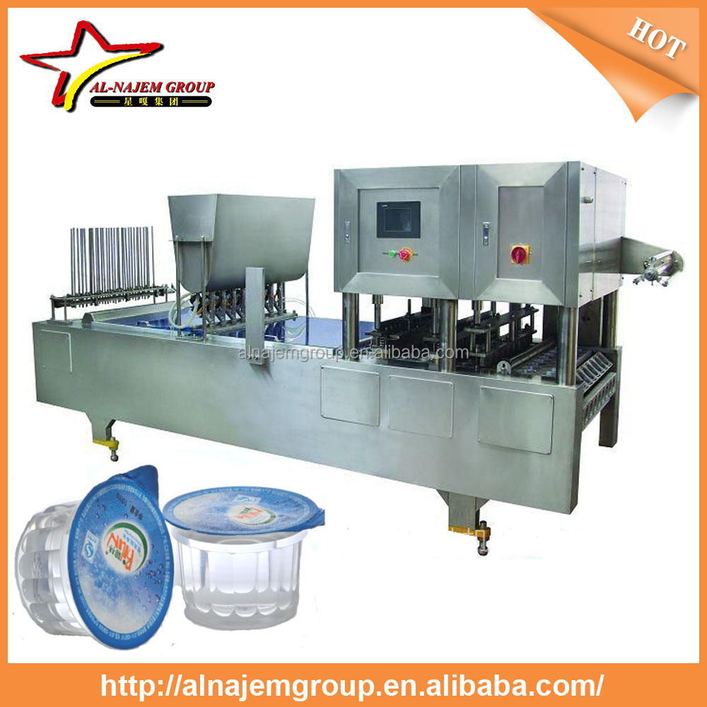Cheap price cup water filling sealing cutting machine with CE