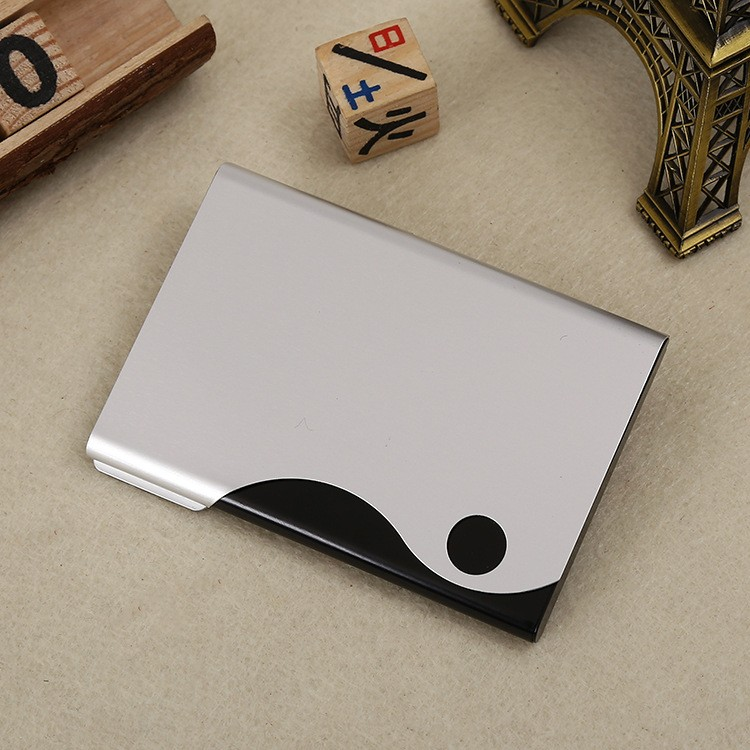 Wholesale personalized leather business card holder buy for Bulk business card holders