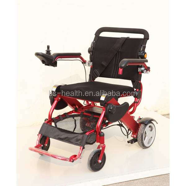 2016 hot sale Easy to travel rechargeable power wheelchair