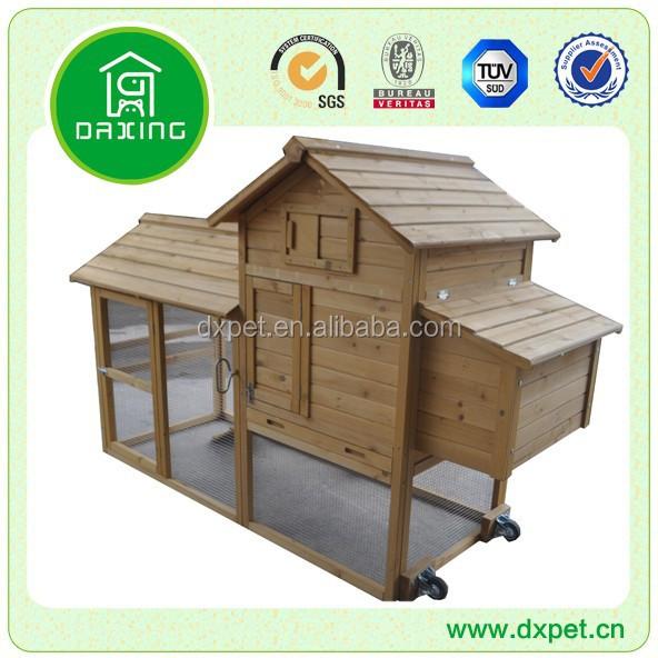 Mobile Hühnerstall Dxh014-t-Käfig, Halterung Und Haus Für