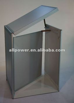 Superbe Laminated Melamine Check Counter Hinged Cash Counter Mall Kiosk Counter  Swing Door