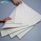 High density fine white wool felt Australian wool felt flat felt can be customized in various thicknesses