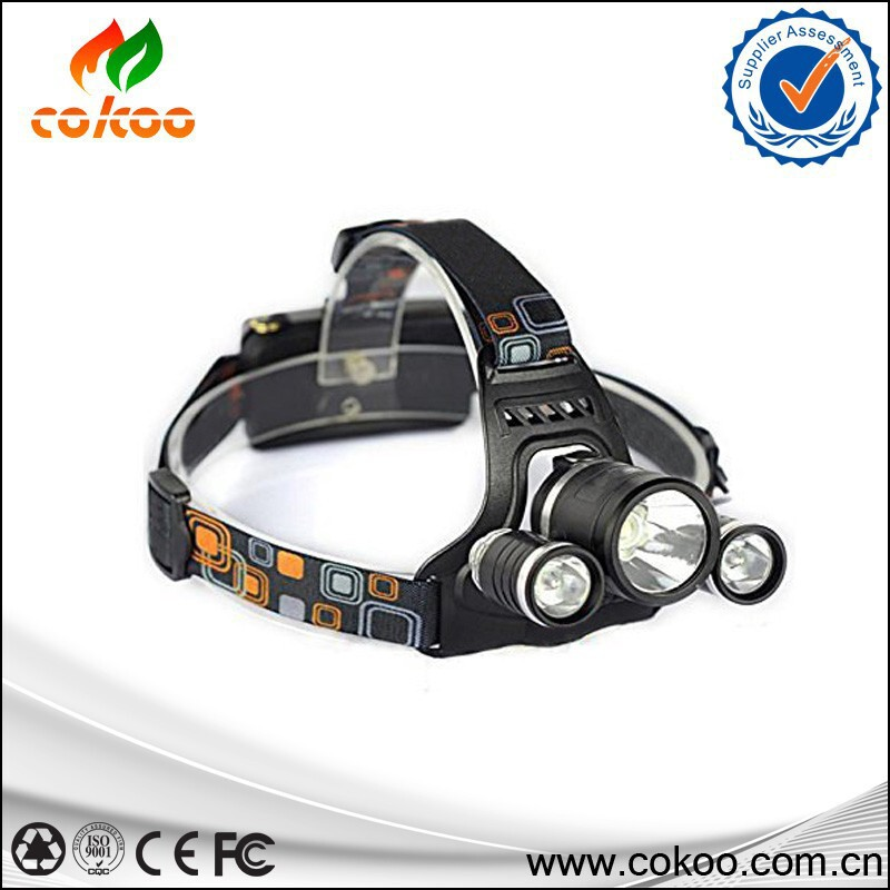 Multifunction Rechargeable 6000LM 3x XM-L T6 LED Headlamp Headlight Head Torches Light USB Lamp +Battery/Charger