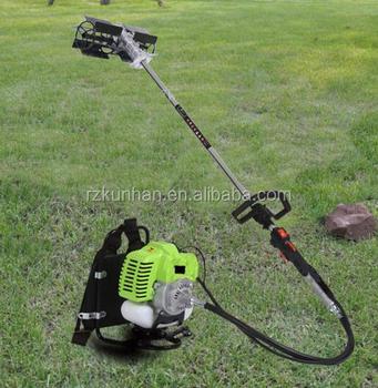 Two Stroke Four Knapsack Gasoline Lawn Mower Engine For
