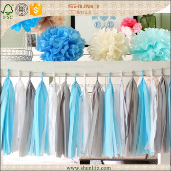 frozen theme party decoration hanging frozen sparkle tissue paper tassel kit - Frozen Halloween Decorations