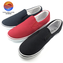 2017 Italian Design Comfortable Canvas Upper Casual Slip-on Men Shoes