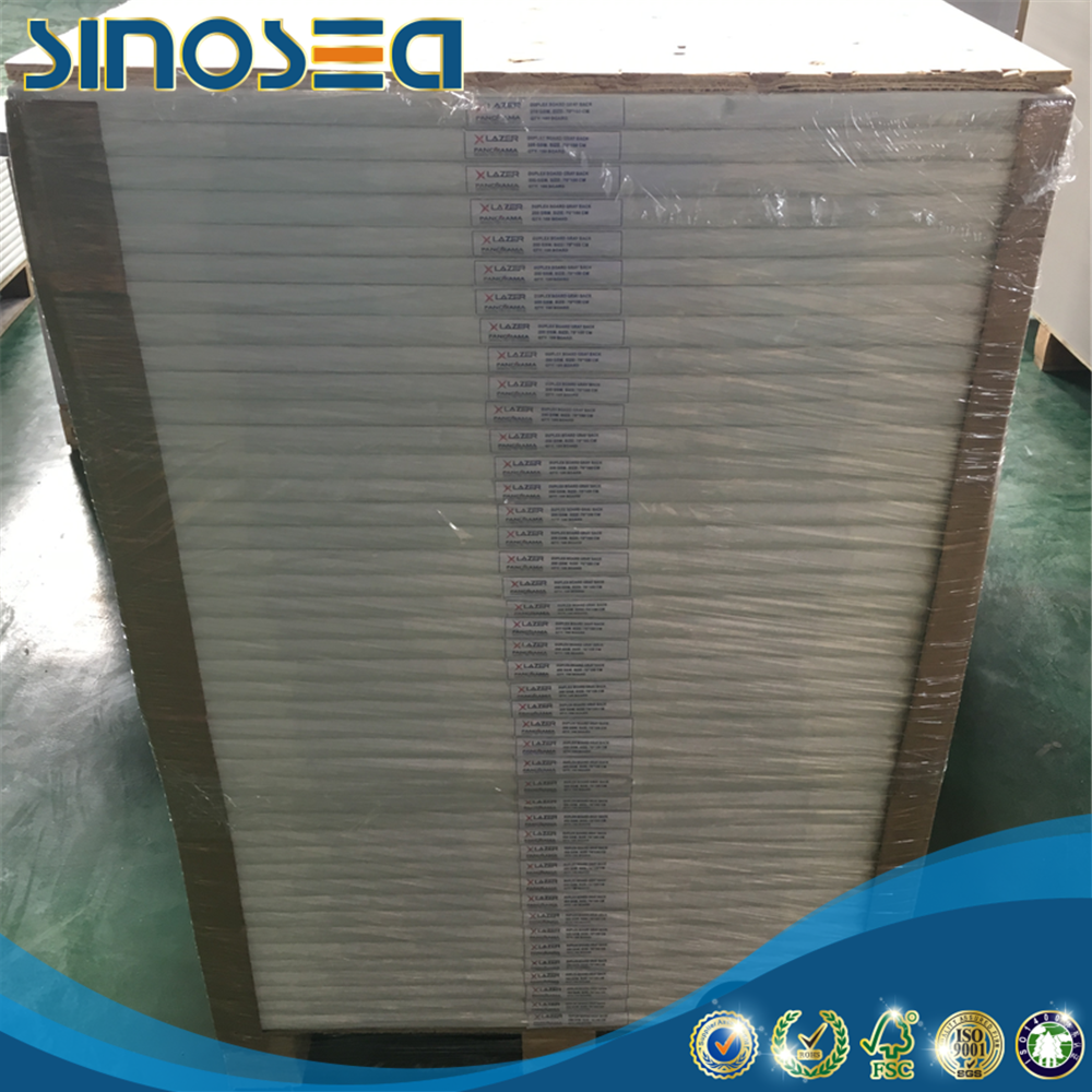 Korea used duplex paper cheap price with single side coated