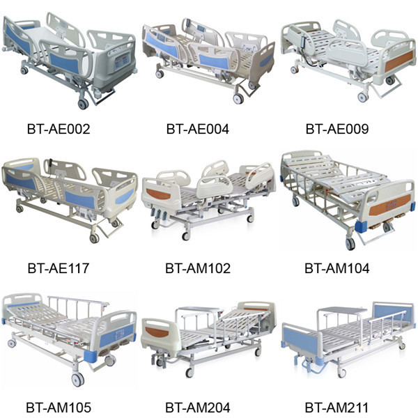China Supplier Bt-tr007 Electric Transport Stretcher Ambulance Bed ...